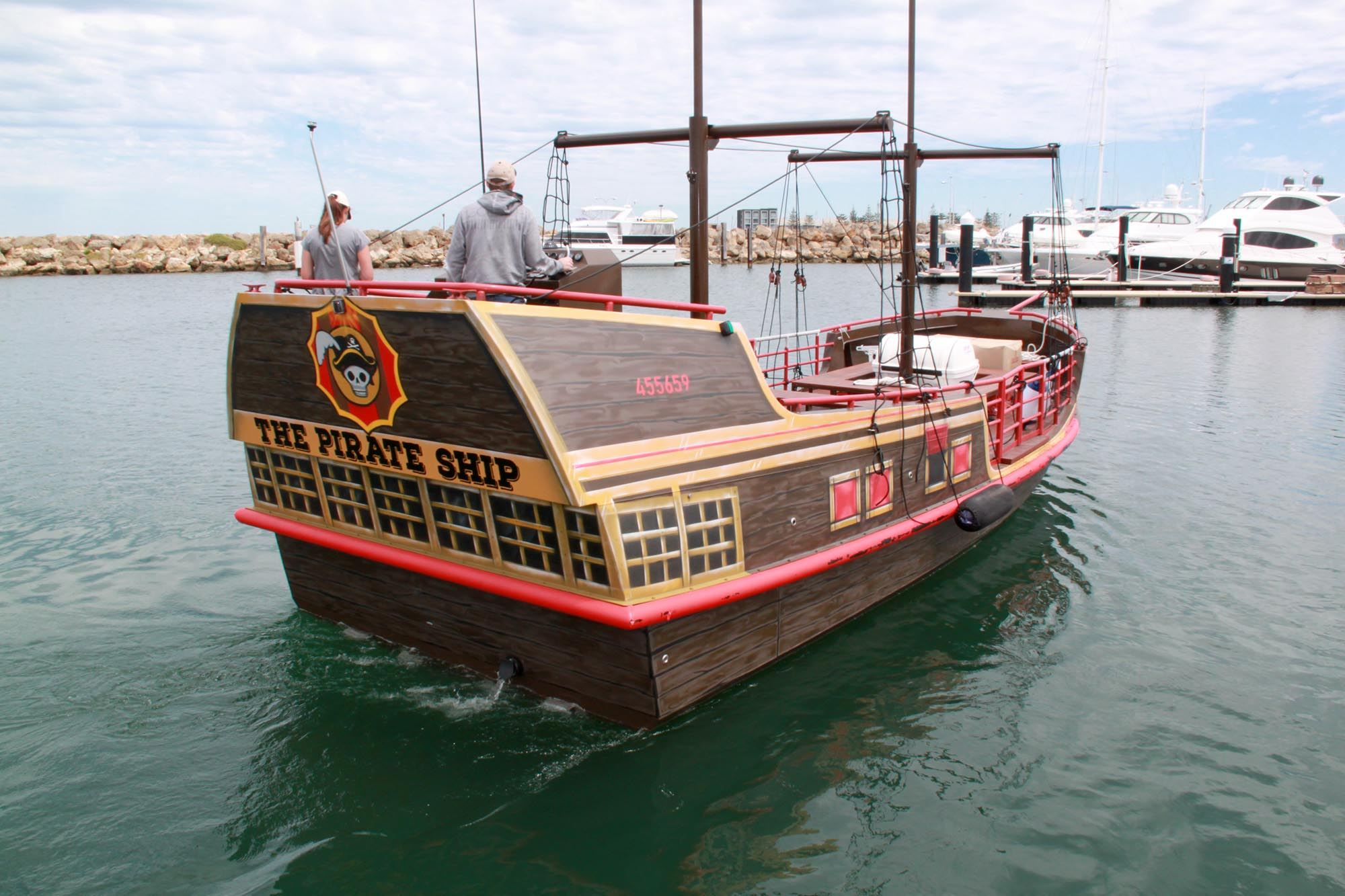 The Pirate Ship – Tourist Vessel