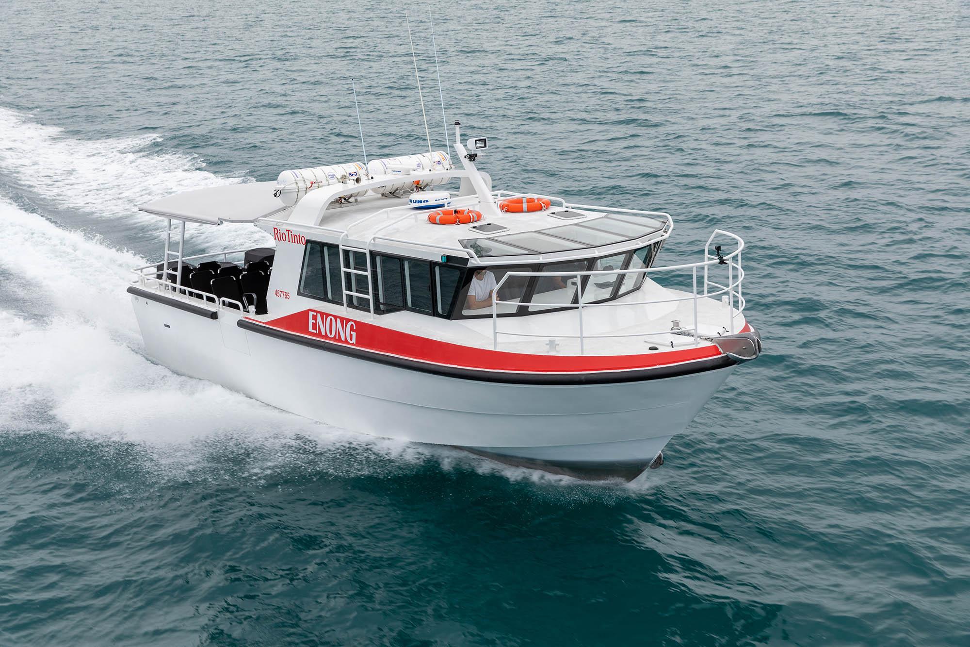 Rio Tinto 11.99m Crew Transfer Boat